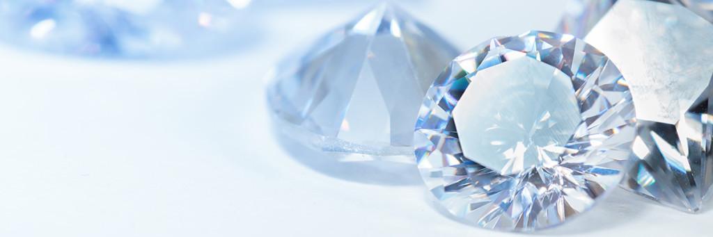 Diamanter är ädelstenar